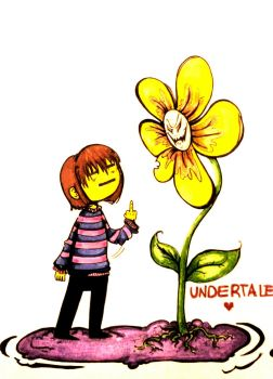 Undertale!!! by lullabyly