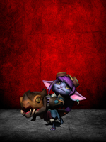 Dragon Trainer Tristana XPS by CR1T3R10N