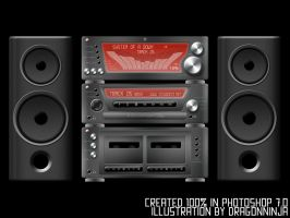 Stereo in Photoshop 7 by dragonninja45