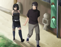 Akua x Itachi PC by Shikafy