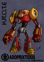 K.R.O.T.E color by russ-artiste