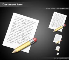 Document Icon by kyo-tux
