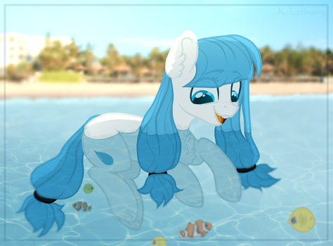 Holidays at the sea by KateTheLittlePegasus