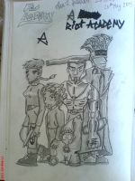 Riot Academy by The-Justified-Poet