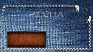 Jeans PS Vita start screen wallpaper by GYNGA