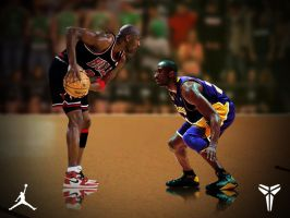 Michael vs Kobe by swooshkidjm