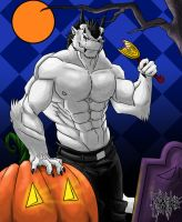 Halloween commission Zerk-Drag by DeadAnthro