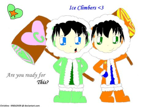 Ice Climbers by KNDLOVER