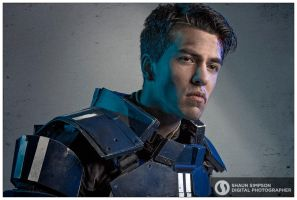 Nathan DeLuca, Mass Effect Cosplay by mental