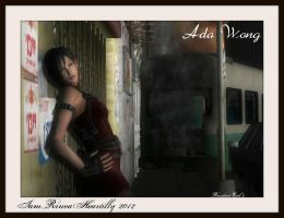 RE2 Ada Wong by IamRinoaHeartilly