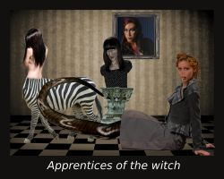 Apprentices of the witch by DrTofu83
