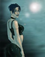 Lila in a misty night by The-Mirrorball-Man