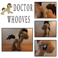 Doctor Whooves Plush by caashley