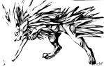 Jolteon Scanned and Blurred by kittumgirl