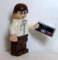 Angry Video Game Nerd by DJ-Volar