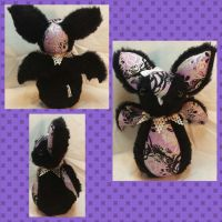 Con Plush 14 - Prim Bat Guardian Plush by mihijime