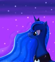 Princess Luna by lokkyta