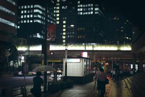 Night time Tokyo by alien-tree-sap