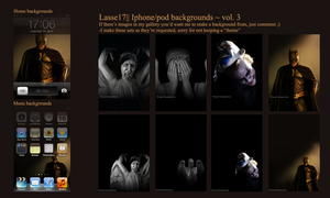 My Iphone/pod backgrounds ~ vol. 3 by Lasse17