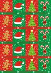 Christmas Gifts wrapping paper by spidergypsy