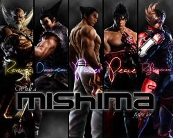 What A Mishima Fights For... by potterhead421