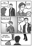If 9th Doctor were in the 50th anniversary P3 by GaryLight