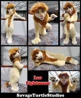 Leo Lightmane Fullsuit by JakeJynx
