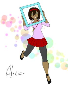 Art trade: Alicia by neat-colors