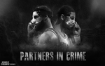 Partners in Crime | Wallpaper by ClydeGraffix