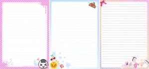 Cute stationary by MilkyBerry