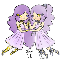 Gemini for BlueHecate by SunflowerDragon