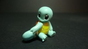 Pokemon - baby Squirtle figure by stopmotionOSkun