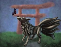 nine tails by the-art-junky