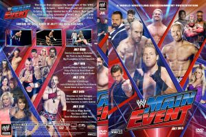 WWE Main Event July 2013 DVD Cover by Chirantha
