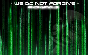 Anonymous Wallpaper HD We do not forgive by Speetix