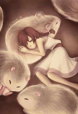 Together we Curl into Slumber by chuinny - Anime AvatarLar ~