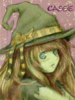 Cassie the Witch by catzie1