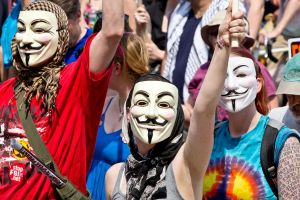 Anonymous against NATO by Voltaireon
