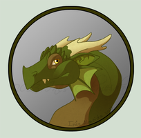 Dragon Portrait 1 by SuperSymmetricCake