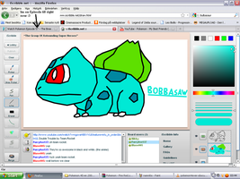 BobbaSaw in iScribble by blase005