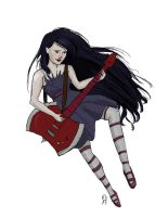 Marceline the Vampire Queen by Puppy-eater