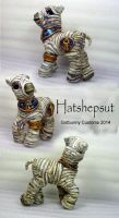 Hatshepsut~ My little Mummy Pony by gotbunny