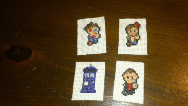 Dr.Who magnets by DawnMLC