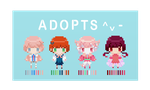 Pixel adopts batch [Closed~] by ArtNote