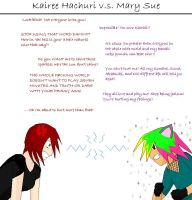 Kairee Meets Miss Mary Sue by LittleUchiha