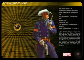 Gay Superheroes: Rawhide Kid by mongski