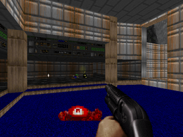 Duke Nukem Comes Across The Mario Brothers by TheRumbleRoseNetwork