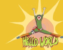 HELLO WORLD by soltian
