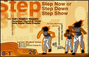 Step Show Poster by dragonorion