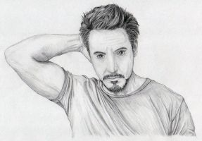 Robert Downey jr by zelda-Freak91